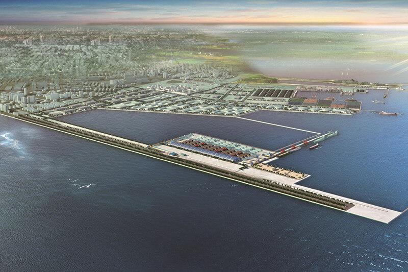 锦州港煤炭码头一期工程