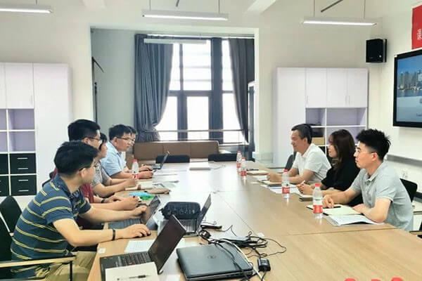 远瓴数据集团同北方工业大学就建筑信息化展开深入合作!