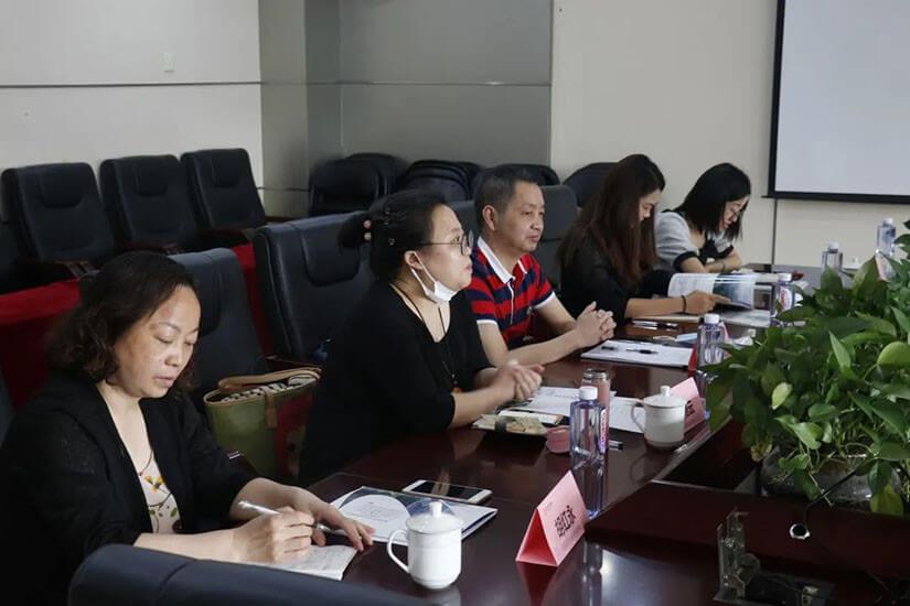 宜昌市西陵区财政局副局长夏贤雄一行莅临远瓴数据集团考察调研